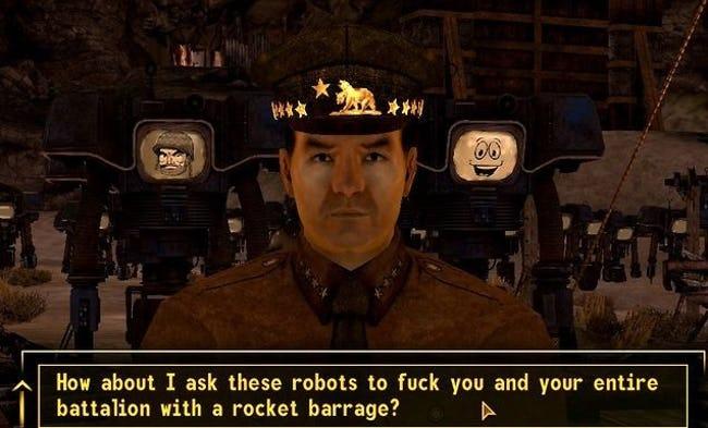NPC Interactions Fallout 3