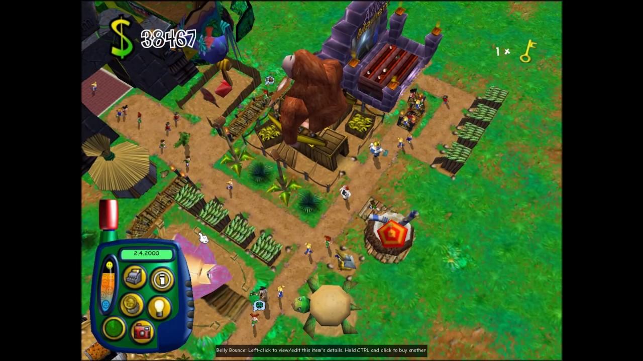 theme park world game