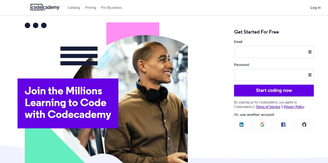 codecademy it courses online