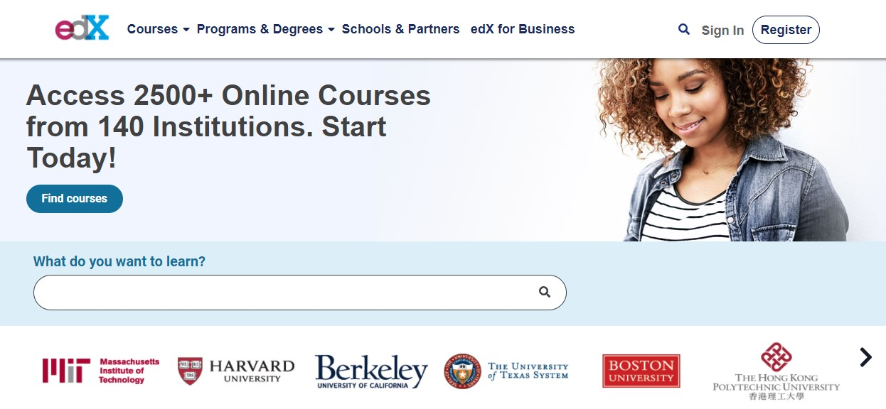 edX it courses online
