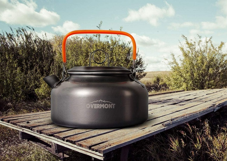 Overmont Camping Cookware Set for 1-3 People