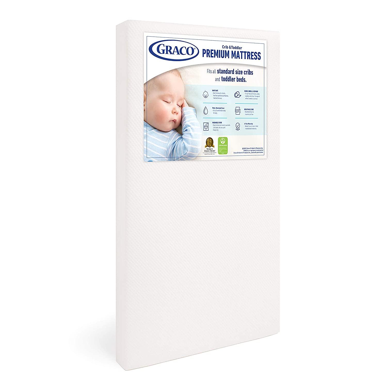 graco premium foam crib ad mattress