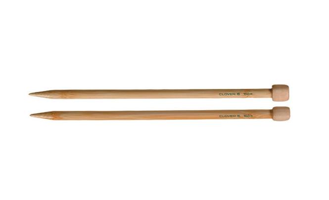 Clover Takumi Bamboo Single Point Knitting Needles,