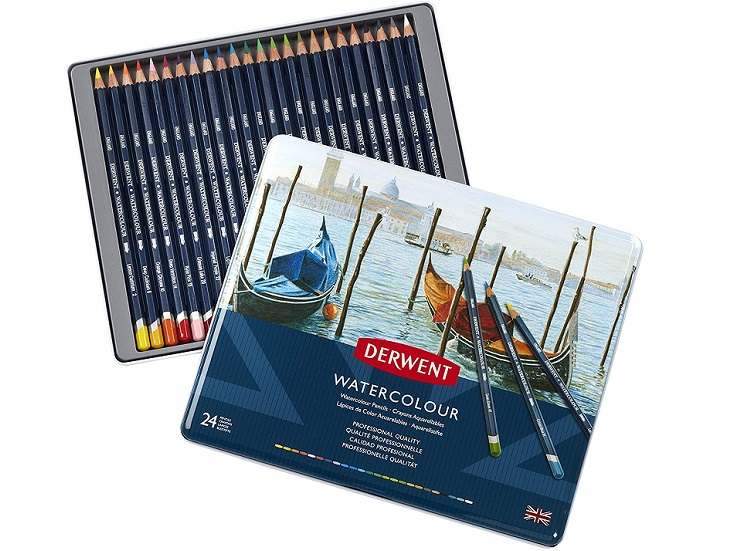 Derwent Watercolour Pencils