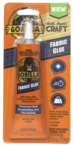 Gorilla Waterproof Fabric Glue