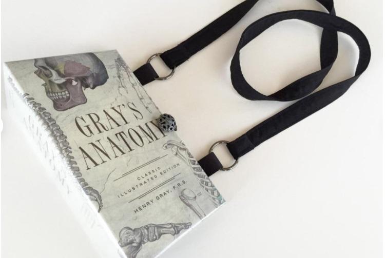 Gray's Anatomy Book Bag