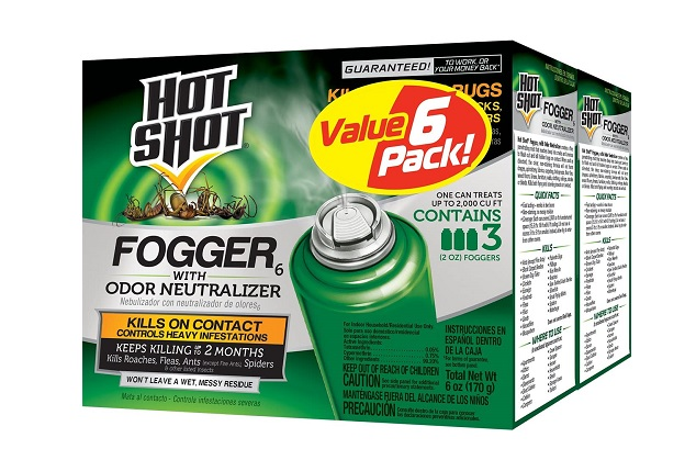Hot Shot Fogger6 With Odor Neutralizer