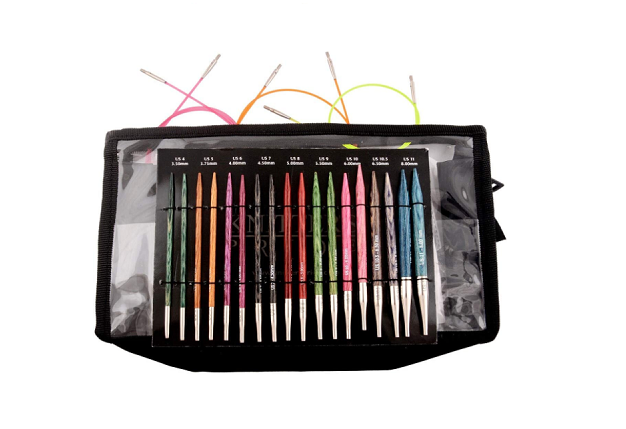 Knitters Pride Dreamz Deluxe Interchangeable Needle Set