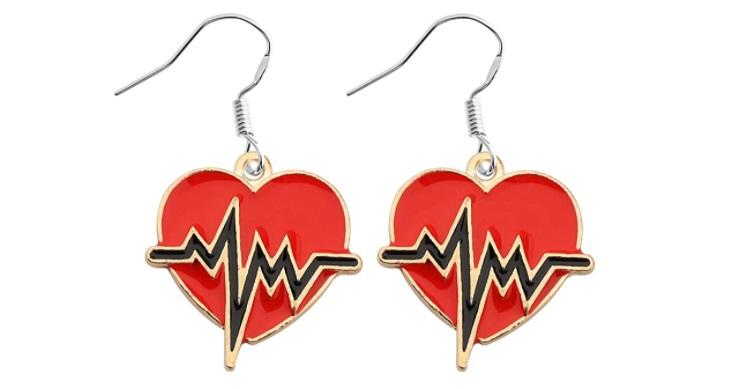 Medical Symbol Earrings