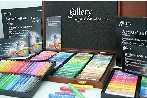 Non Toxic Soft Oil Pastels Set of 48 Assorted Colors
