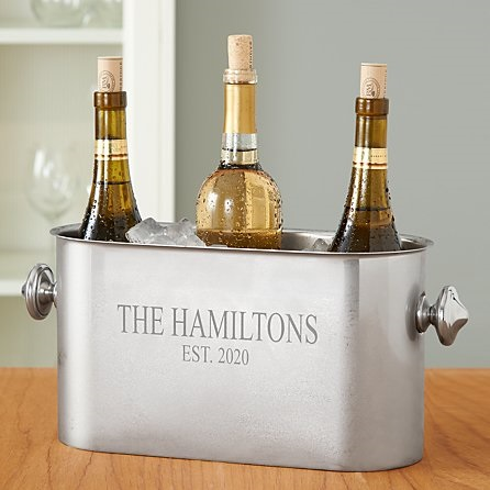 Personalized Wine Bottle Chiller