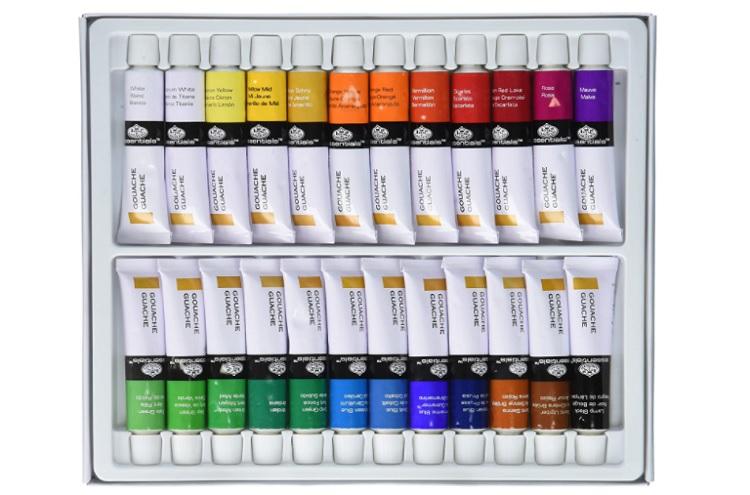 Royal & Langnickel Gouache Color Artist Tube Paint Pack