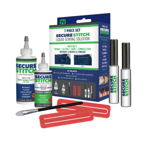 Secure Stitch Liquid Sewing Solution Kit
