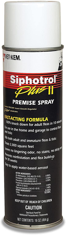 Vet-Kem Siphotrol Plus II Premise Pest Control Spray