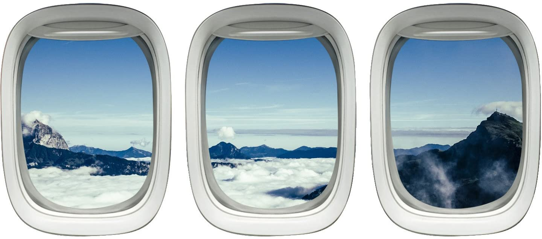 airplane window clings