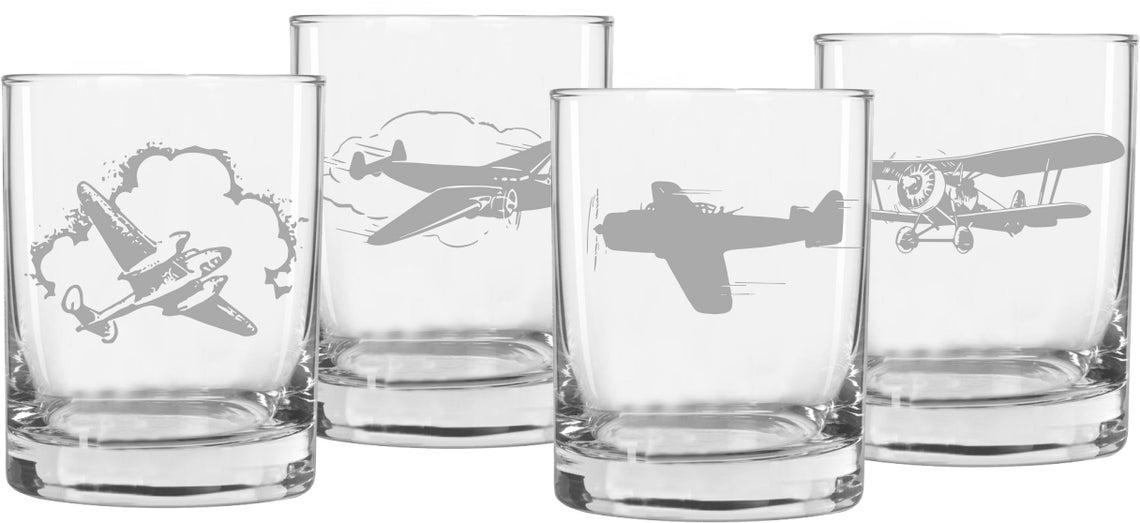 aviation whiskey glasses