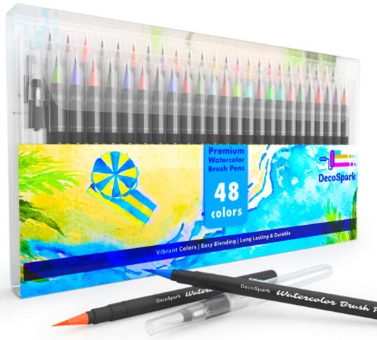 decospark watercolor brush