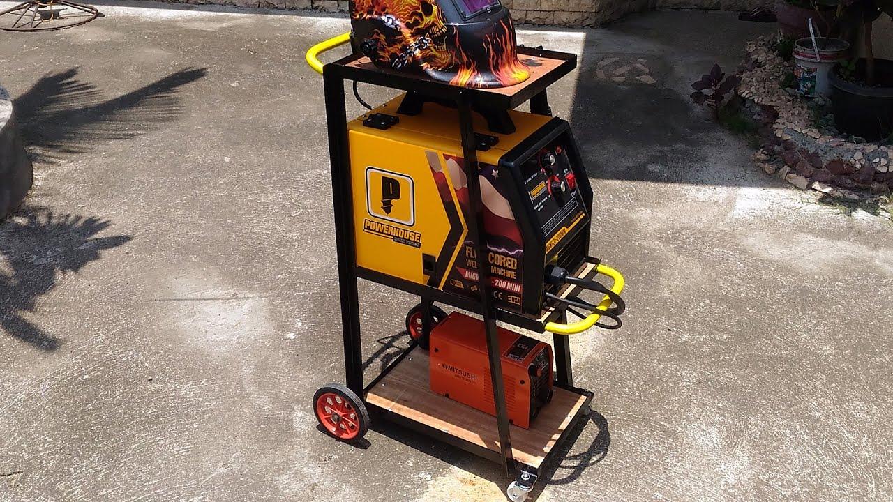 how to make a welding cart