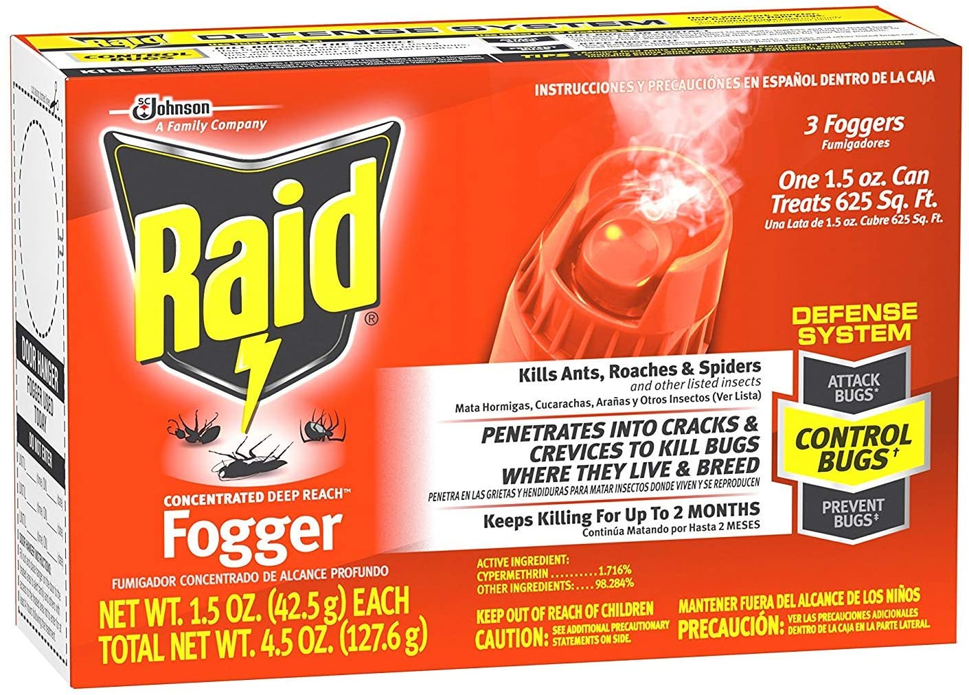 raid fogger