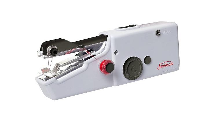 sunbeam portable cordless handheld sewing machine