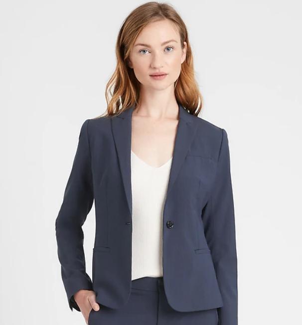 woman blazer