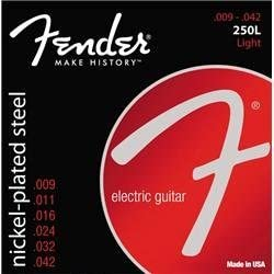 Fender 250L Nickel Plated Steel Electric Guitar Strings