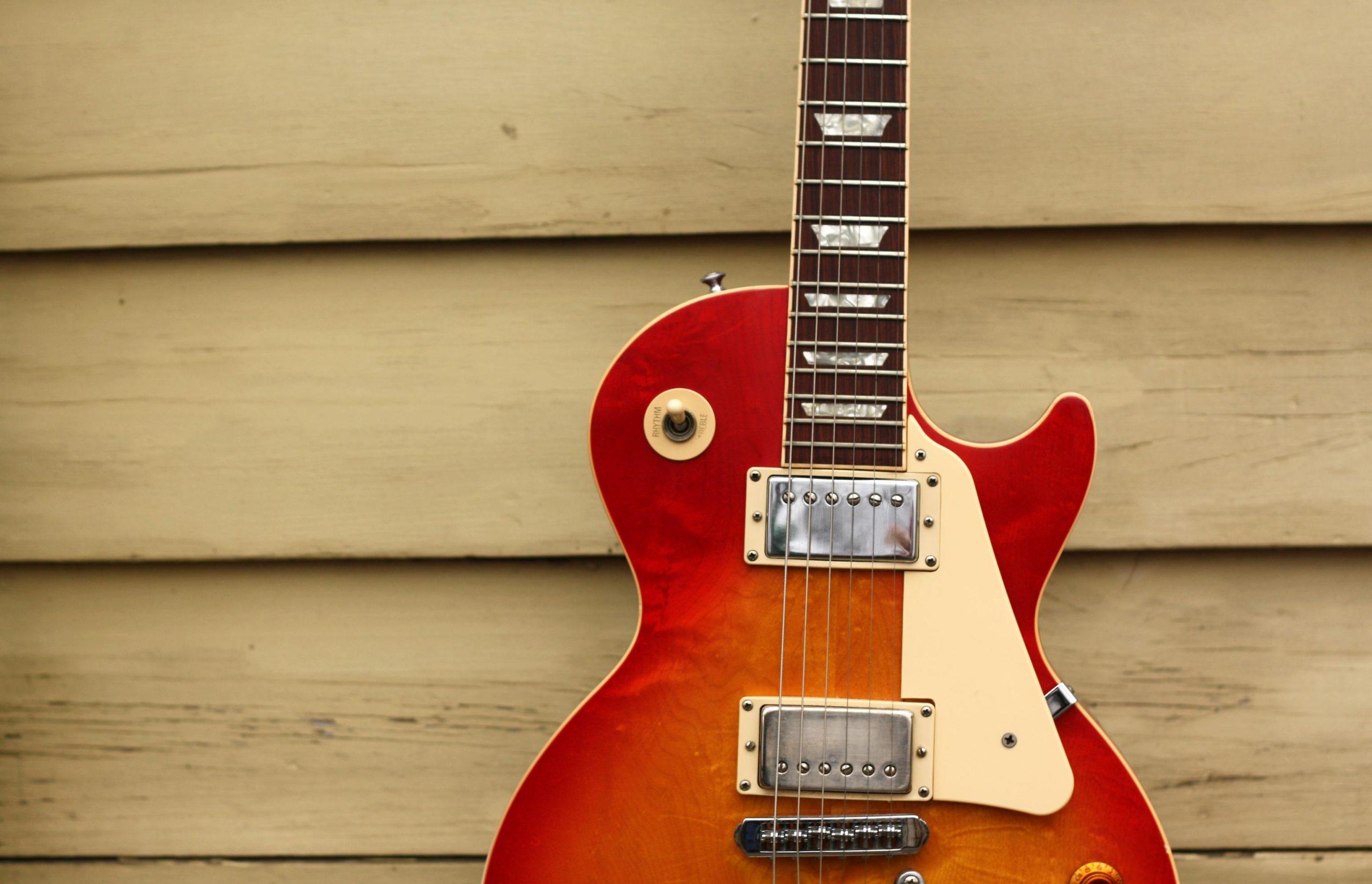 gibson les paul standard guitar