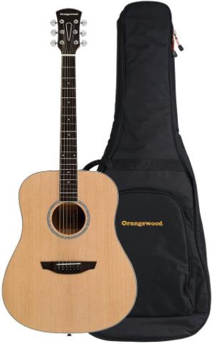 orangewood 6 string spruce guitar