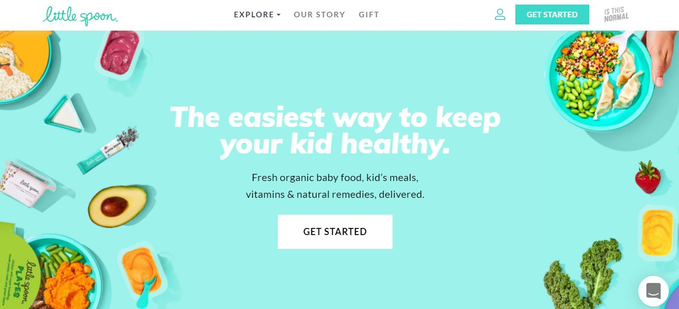 Best Organic Baby Food Delivery and Subcription Services: Little Spoon