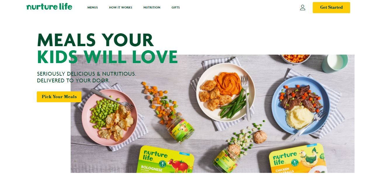 Best Organic Baby Food Delivery and Subcription Services nuture life