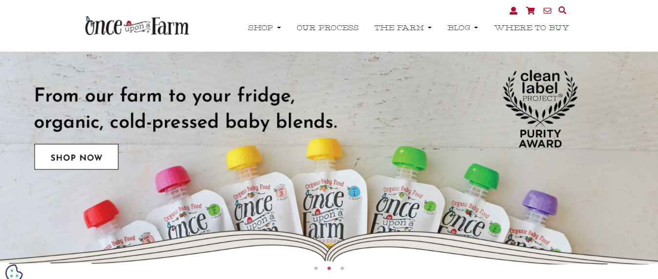 Best Organic Baby Food Delivery and Subcription Services once upon a farm