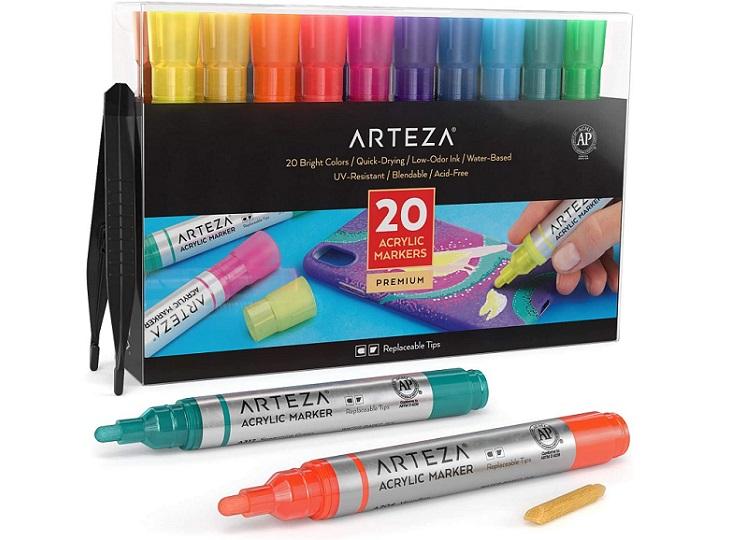 Areteza Acrylic Paint Marker Pens