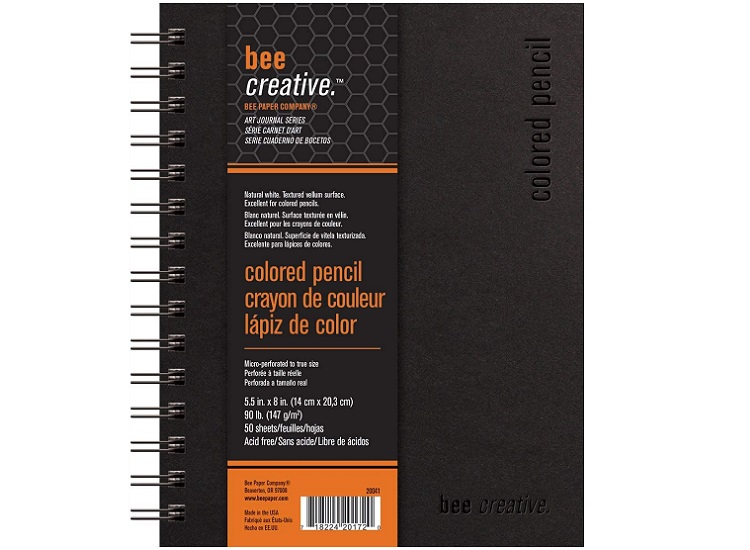Bee Paper Bee Creative Colored Pencil Book