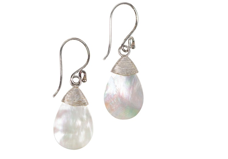 Best Sustainable Gift Ideas: Calming Rain Earrings