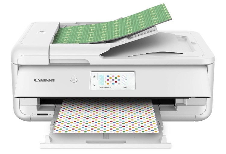 Canon PIXMA TS9521C Crafting Printer