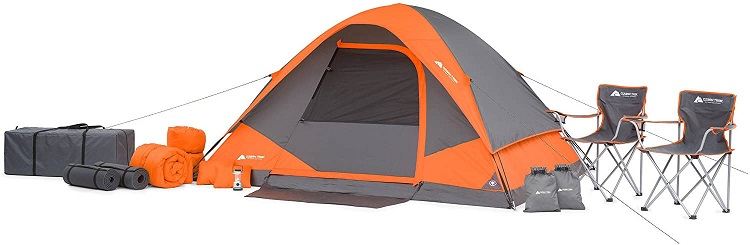 Ozark Trail 22 Piece Camping Tent Combo