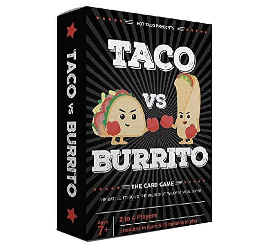 Best Gifts for 7 Year Old Boy taco vs burrito