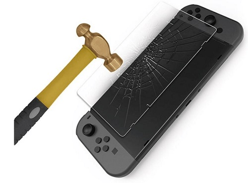 Tempered Glass Screen Protector for Nintendo Switch gamestop