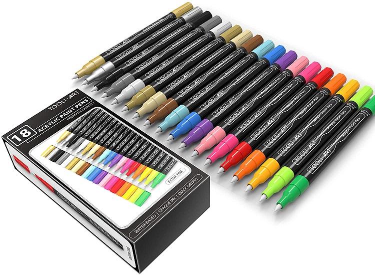 Tooli-Art Acrylic Paint Pens