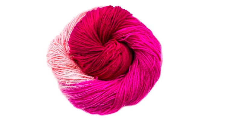 Ombre Recycled Silk Yarn