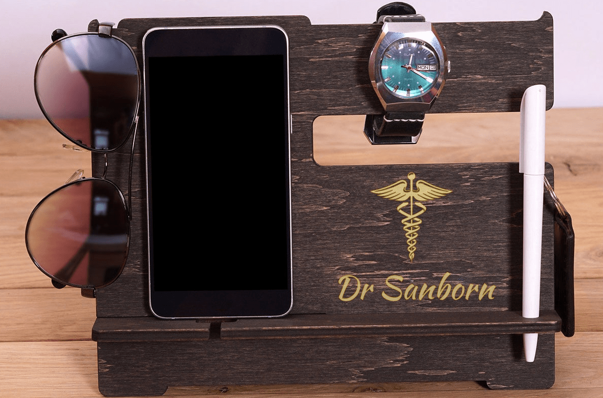 Best Gifts for Doctors: Doctor Nightstand Organizer