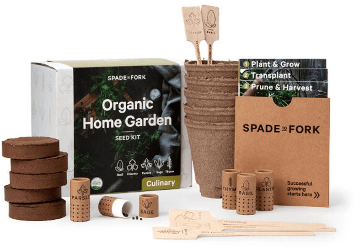 The Farmer's Organic Indoor Herb Garden