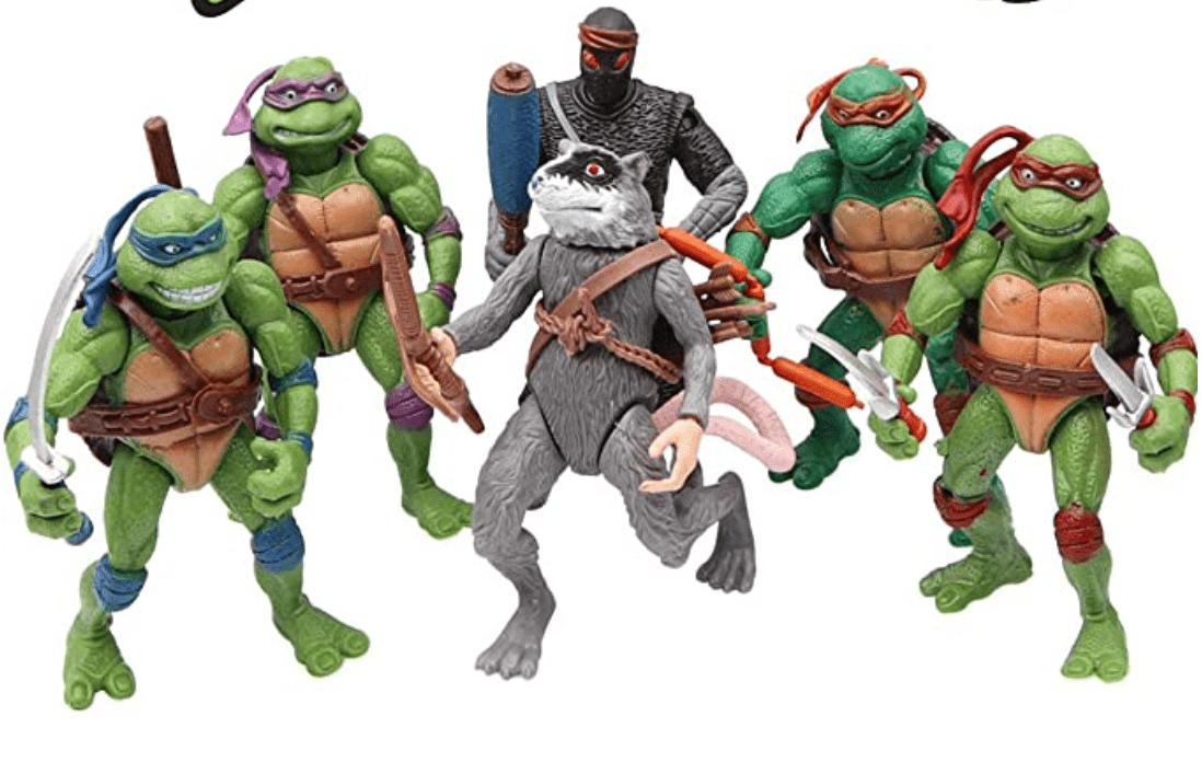 Best Ninja Turtle Gifts: 6pcs set