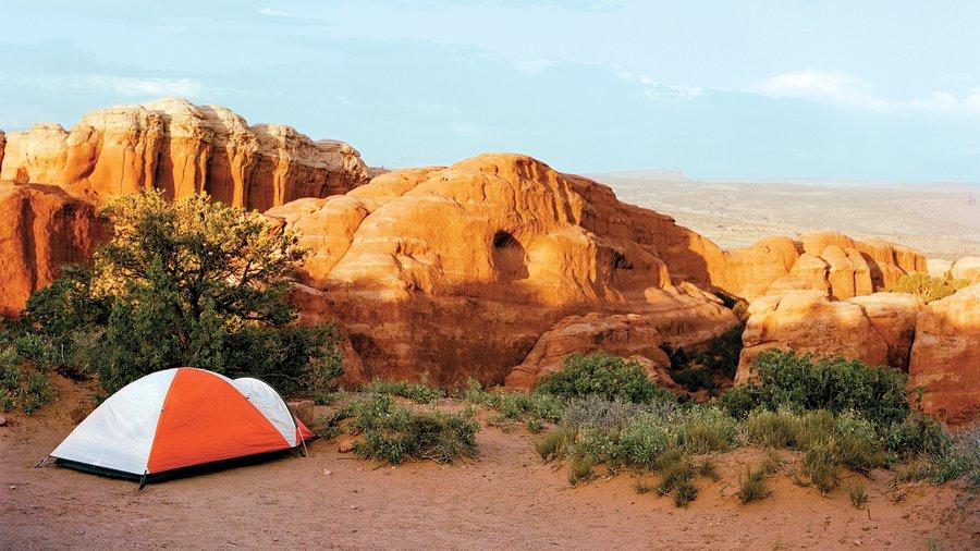 Arches National Park Devil's Garden Campground