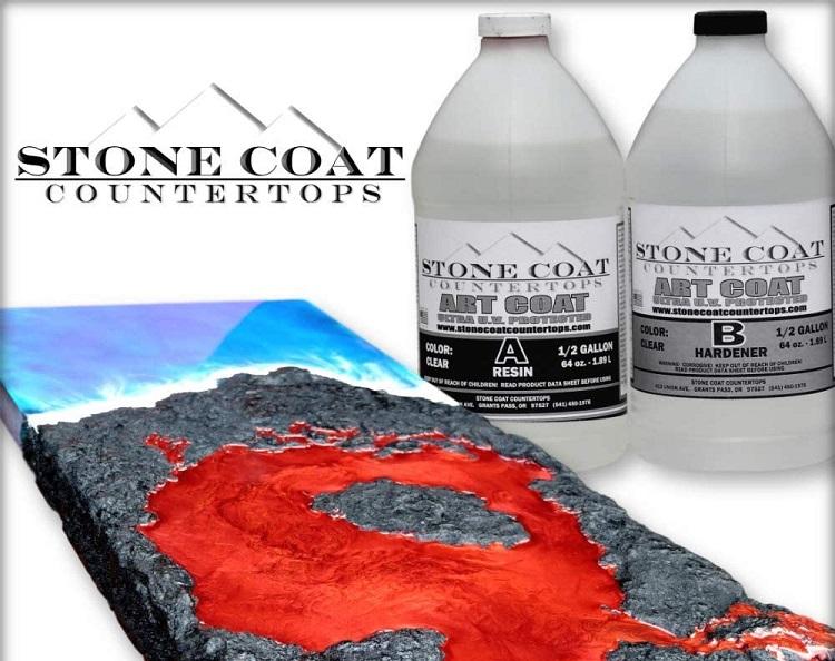 Stone Coat Art Coat Epoxy Kit