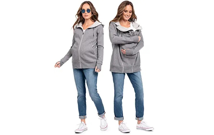 Hatch Maternity Collection Review Sweaters and Hoodies